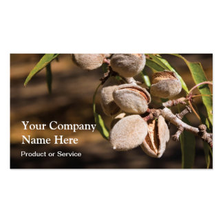 Almonds business card