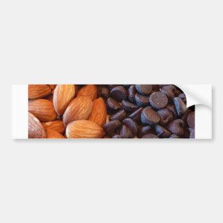 Almonds & Chocolate Chips Bumper Sticker
