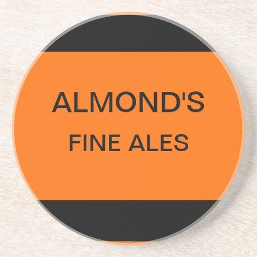 Almond's Fine Ales Coasters