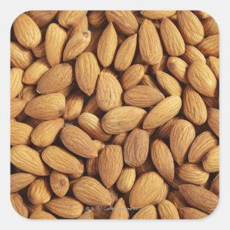 Almonds Square Sticker