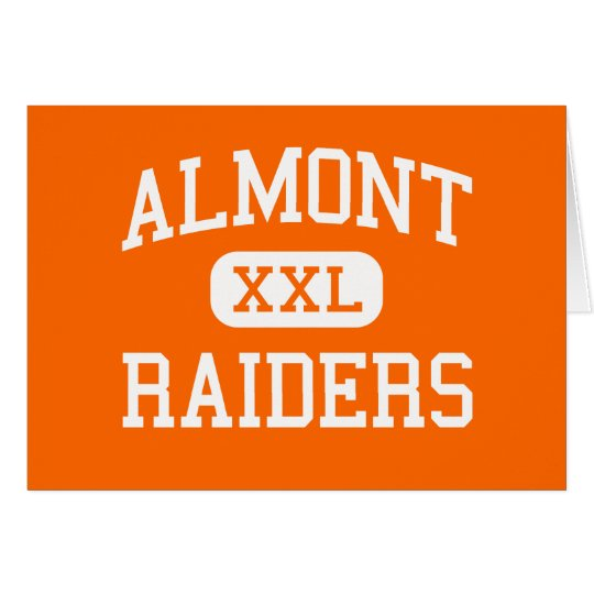 Almont - Raiders - High School - Almont Michigan Card