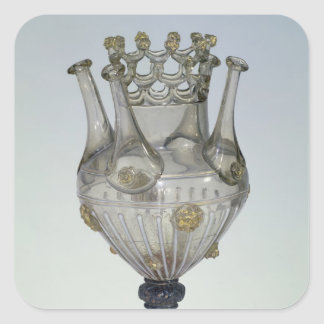 Almorratxa glass, 16-17th century square sticker