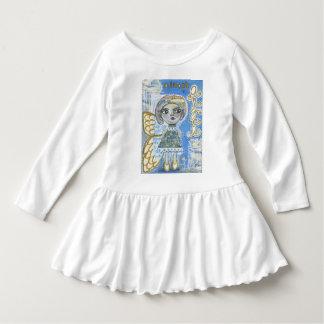 "Almost An Angel Toddler Ruffle Dress - ""Lisa"""
