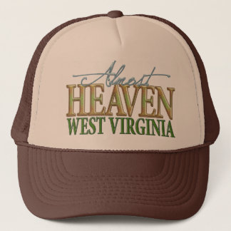 Almost Heaven West Virginia_2 Trucker Hat