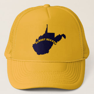ALMOST HEAVEN WEST VIRGINIA TRUCKER HAT