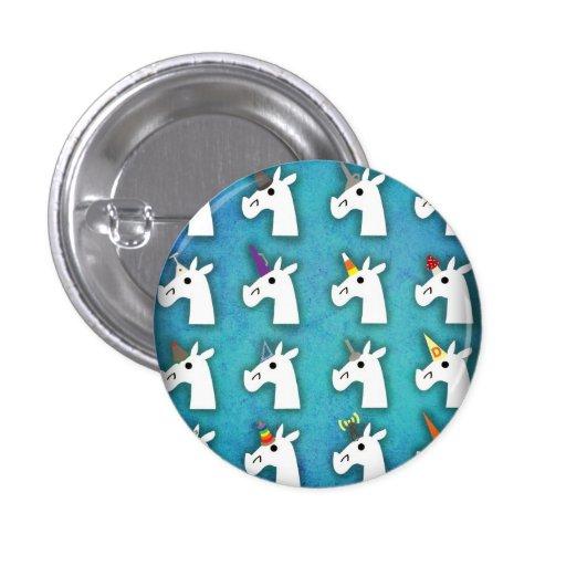 Almost Unicorn Button