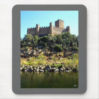 Almourol* Portugal Historic Castle Mousepad