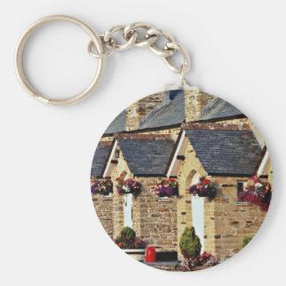 Alms Houses at Par flowers Key Chains