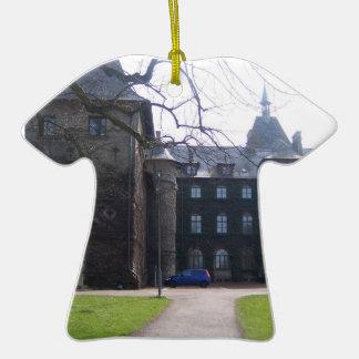 Alnarps Castle - Sweden Double-Sided T-Shirt Ceramic Christmas Ornament