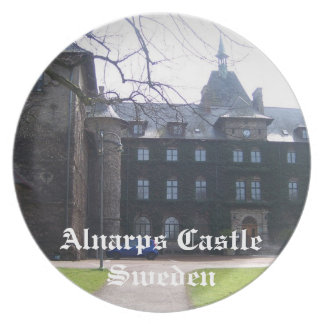 Alnarps Castle - Sweden Party Plate