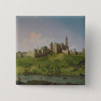 Alnwick Castle 15 Cm Square Badge