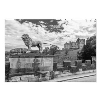 Alnwick Castle, Northumberland Photo Print