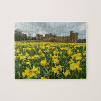 Alnwick Castle , Northumberland, UK Jigsaw Puzzle