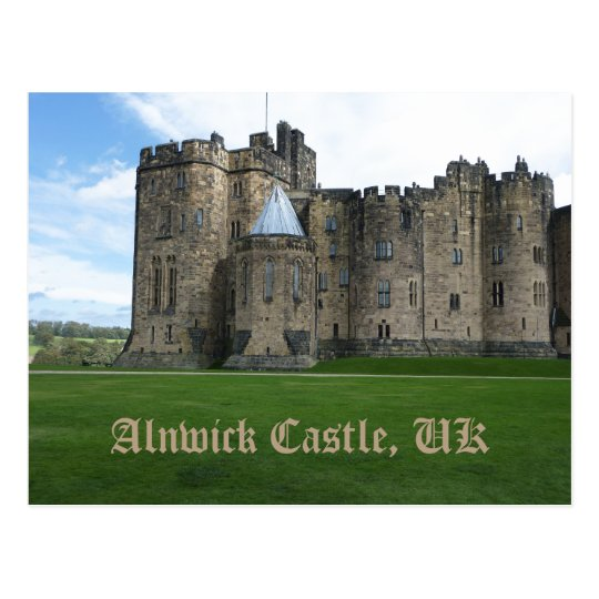 Alnwick Castle UK Postcard