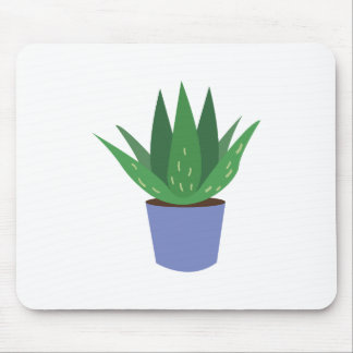 Aloe Plant Mouse Pad