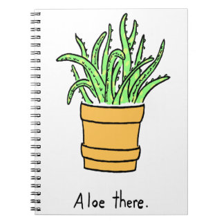 Aloe There Notebooks