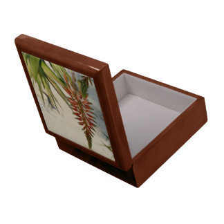 Aloe Vera Blossom Photo Tile Gift Box, Golden Oak Gift Box