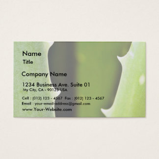 Aloe Vera Business Card