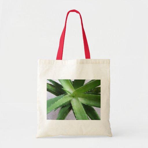 Aloe Vera in its prime Canvas Bags