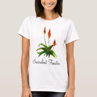 Aloe watercolor ladies' T-shirt