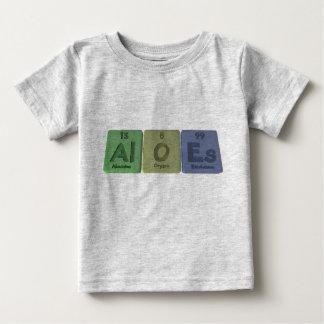 Aloes-Al-O-Es-Aluminium-Oxygen-Einsteinium Infant T-Shirt