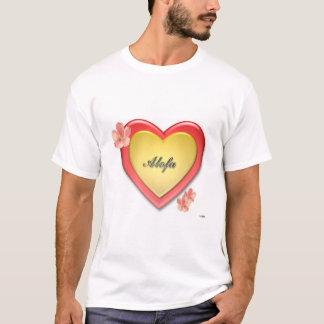 Alofa Samoa w/Gold Heart T-Shirt