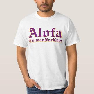 Alofa Samoan For Love Tshirt