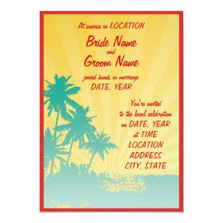 aloha! 13 cm x 18 cm invitation card