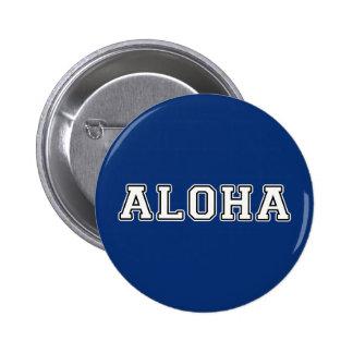 Aloha 6 Cm Round Badge