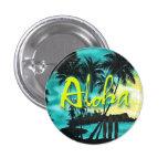 Aloha Aqua Sunset Pin