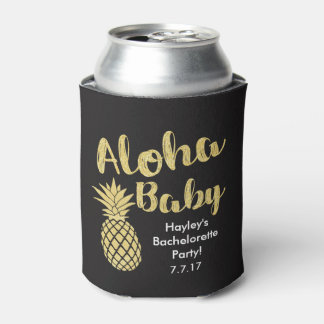 Aloha Baby Bachelorette Drink Holder Can Cooler