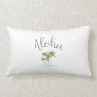 Aloha Beaches Hawaiian Tropical  Summer Unique Lumbar Pillow