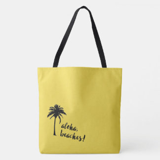 Aloha, Beaches! tote bag