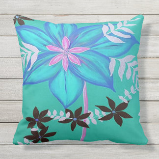 Aloha Blue Patio cushion