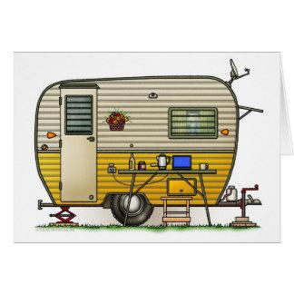 Aloha Camper Trailer Card
