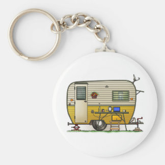 Aloha Camper Trailer Key Ring