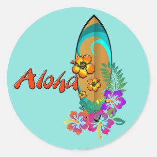 Aloha Classic Round Sticker