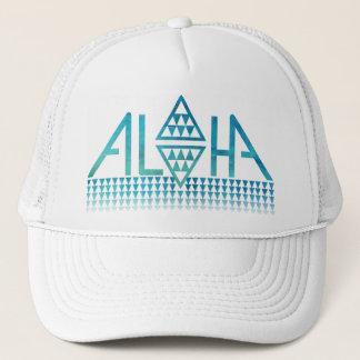 Aloha Diamond Tapa Trucker Hat