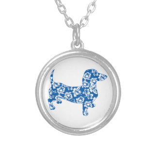 Aloha Doxie Dachshund Custom Necklace