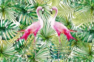 Aloha Flamingo Home Furnishings Accessories Zazzle Co Uk