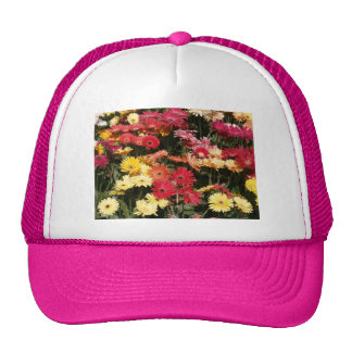 Aloha  Floral Luau Flowers Party Shower Office Art Hats