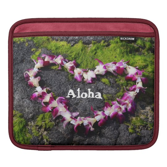 Aloha From Hawaii iPad Sleeve