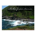 aloha from kauai postcard