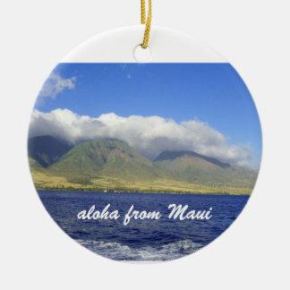 Aloha from Maui Christmas Ornament