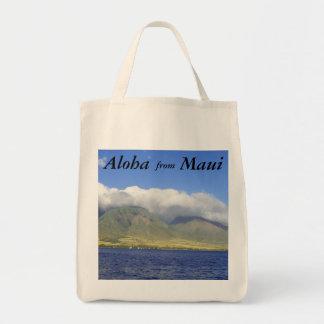 Aloha from Maui Grocery Tote Bag