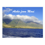 Aloha from Maui Hawaii Postcard
