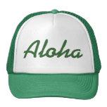 Aloha Hat Green
