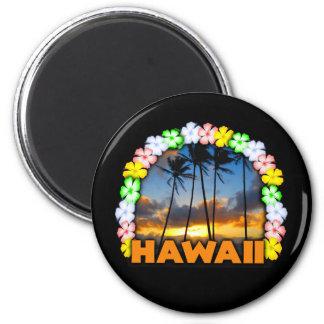 Aloha Hawaii 6 Cm Round Magnet