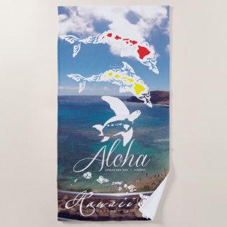 Aloha Hawaii Beach Towel