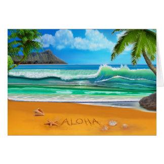 Aloha Hawaii Card